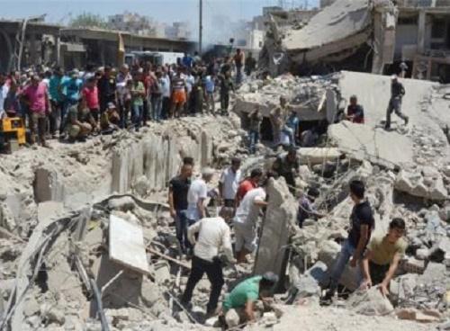 Explosão de carro-bomba deixa ao menos 25 feridos e 100 mortos na Síria