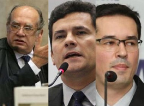 Gilmar, Moro e Dallagnol rejeitam convite para audiência na CPMI da JBS