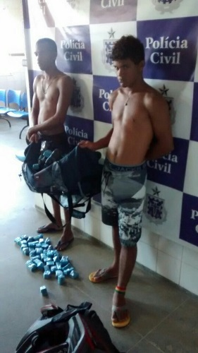 Após trabalho de investigação Policia Civil prende dois traficantes com mais de 05kg de maconha