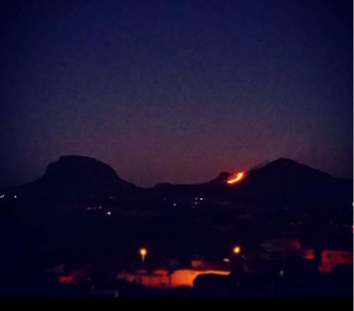 Incêndio volta a atingir a vegetação da Chapada, desta vez em Barra da Estiva