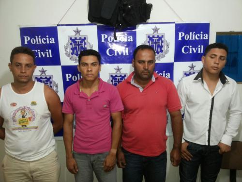 Polícia de Caetité prende autores de furtos de fios de cobre no parque eólico