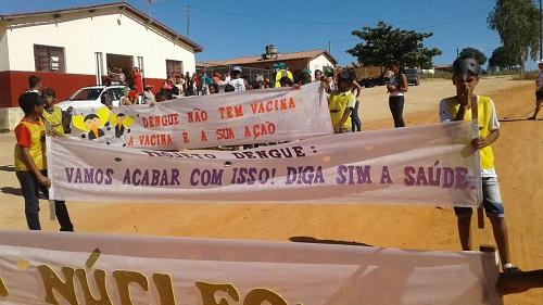 Projeto 'Vamos Acabar com isso! Diga Sim à Saúde' foi realizado em Maetinga
