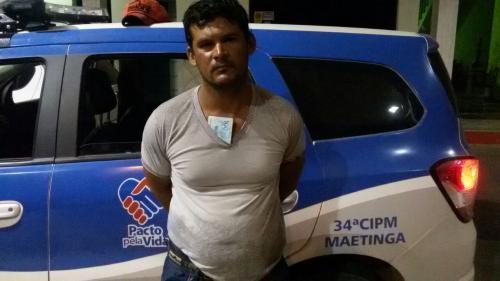 Brumadense é preso em Maetinga por assalto à pousada