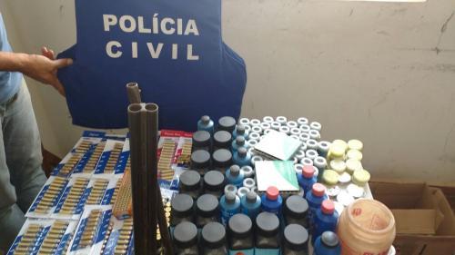 Polícia Civil prende comerciante com mais de quinhentas munições e 'chumbinho' em Rio do Antônio
