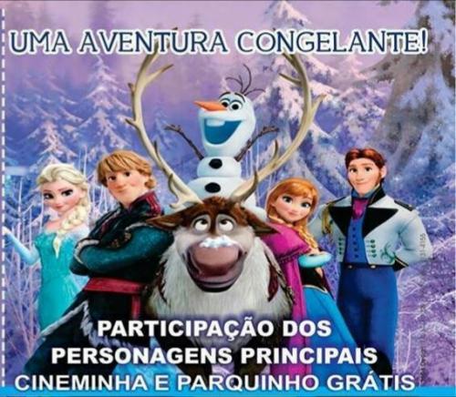 Kezinha Produções traz para Brumado a Turma da da Frozen
