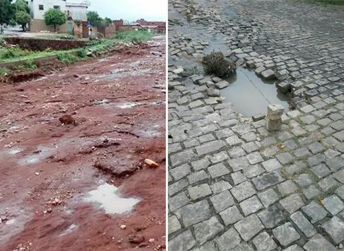 Município não realizou obras de infraestrutura e os brumadenses reclamam de forma unânime