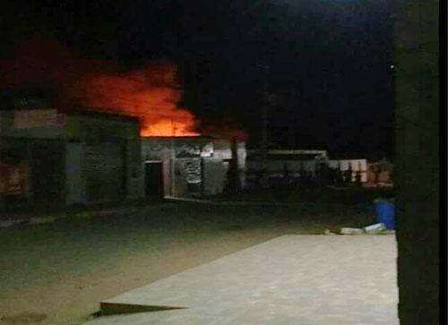 Ibicoara: Incêndio destrói Escola Jaci de Carvalho Matos, em Cascavel