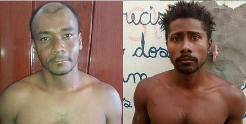 PM age rápido e prende dupla que amarrou, agrediu e roubou homem em Tanhaçu