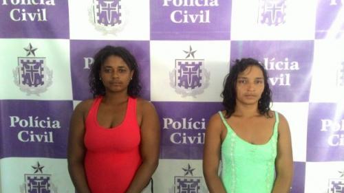 Dupla de mulheres são presas após roubarem idosa em Ituaçu