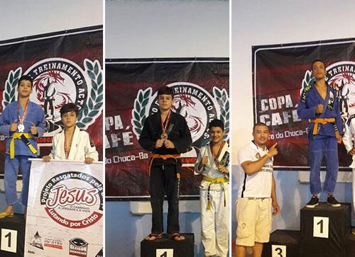 Brumadenses conseguiram ótimos resultados na 2ª Copa Café Open de Jiu-Jitsu em Barra do Choça