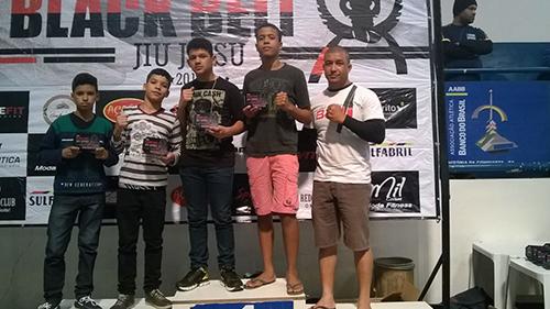 Atletas brumadenses tem destaque importante em Copa Black Belt de Jiu Jitsu