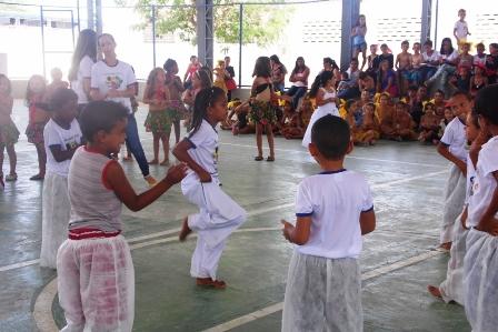 Ginásio Clemente Gomes presta homenagem ao 'Dia da Consciência Negra'