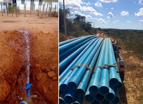 Sistema de abastecimento simplificado de água vai beneficiar centenas de famílias na Zona Rural de Maetinga