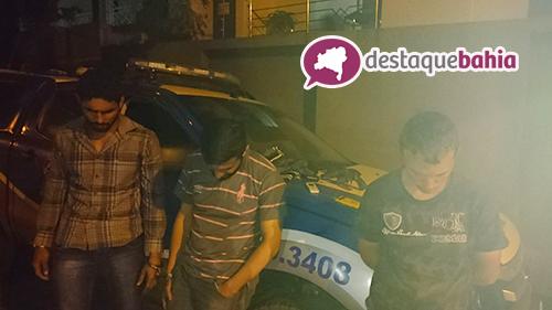 Pm de Malhada de Pedras frustra assalto a empresário da cidade; três pessoas foram presas