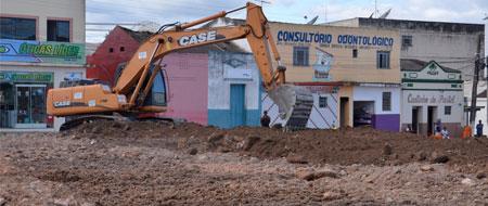 Reconstrução da Praça Rodrigues de Souza em Barra da Estiva custará mais de 444 mil reais