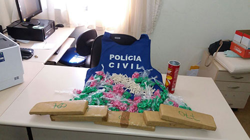 Investigação da Polícia Civil culmina com apreensão de grande quantidade de cocaína e maconha em Paramirim