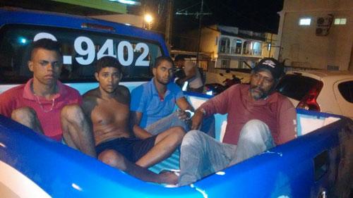 Quatro pessoas são presas durante operação da polícia em Caetité