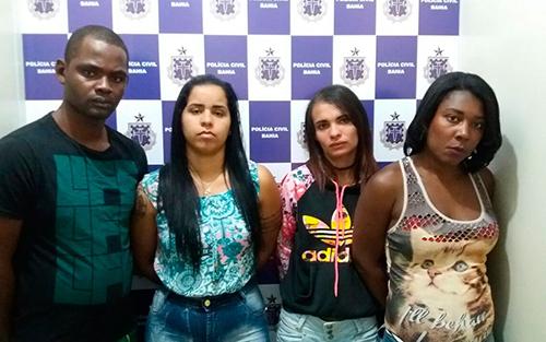 Quatro suspeitos são presos com drogas em motel na cidade de Vitória da Conquista