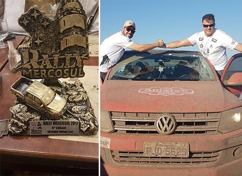 Brumadenses conquistam o 5º lugar em competição internacional de Rally