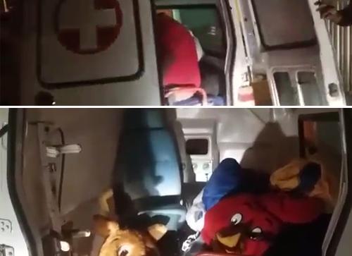 Vídeo: Vereador intercepta ambulância de Rio do Antônio sendo usada para transportar animadores e fantasias