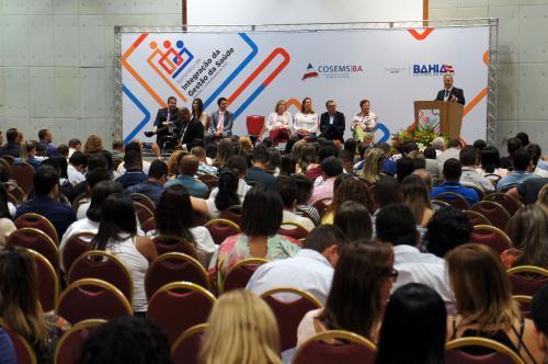 Governo reúne gestores de saúde de 364 municípios para debater avanços e desafios do setor