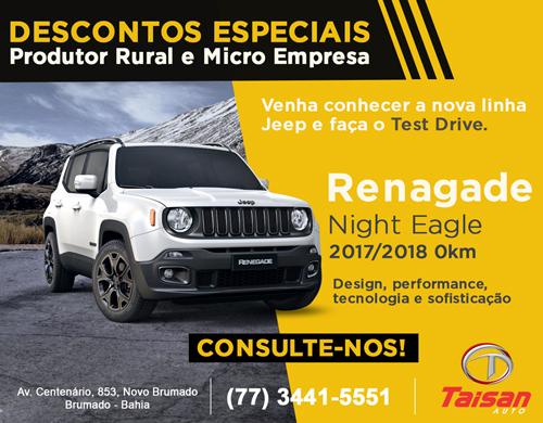 Taisan Auto: Aproveite as condições especiais para Produtor Rural e Micro Empresa