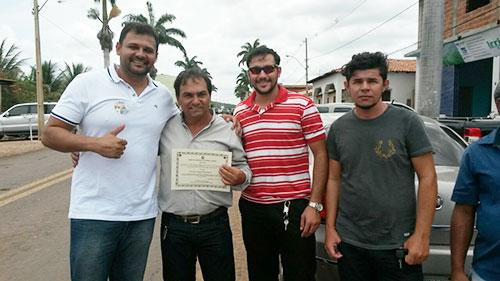 Em Tanhaçu Tôe Brito é diplomado pela sexta vez como vereador