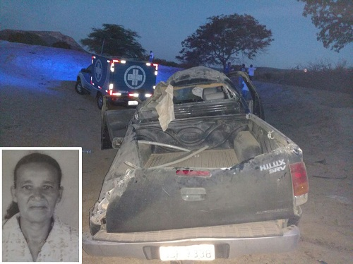 Acidente na rodovia que liga Livramento a Paramirim deixa uma vítima fatal e quatro feridos