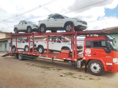 Ituaçu recebe mais quatro veículos para renovação da frota da Prefeitura Municipal