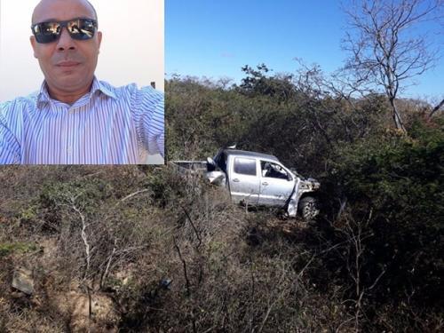 Comerciante guanambiense é vítima de acidente automobilístico na BR-030