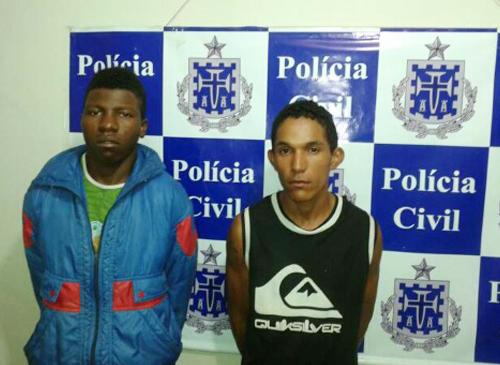 Quadrilha composta por um brumadense é detida pela polícia no Bairro Nossa S. da Paz