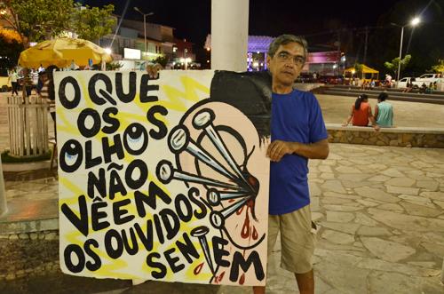 Poluição Sonora:  Através da Arte Robson Trindade fez o seu protesto