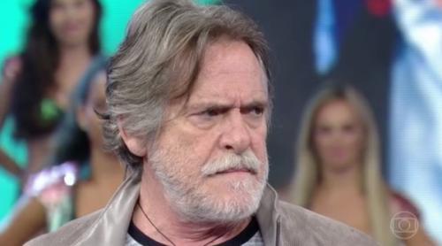 """José de Abreu defende Dilma ao vivo na TV: """"O Brasil é muito machista"""""""