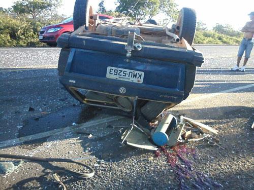 Acidente grave resulta em morte na BR - 030, trecho entre Caetité / Guanambi