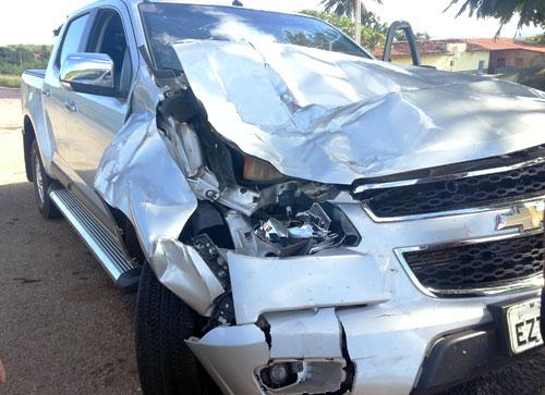 Animais soltos na rodovia BA – 148 provoca acidente próximo a Lagoa Funda / Brumado