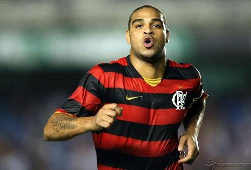 Adriano se oferece para jogar de graça no Flamengo em 2018
