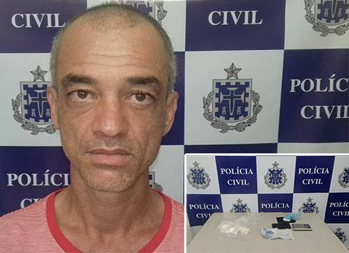 Agente de Proteção ao Menor é preso por tráfico de drogas em Livramento