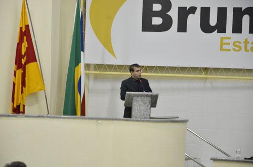 Vereador Alessandro Lôbo destaca a importância da união para viabilização da implantação do curso de medicina
