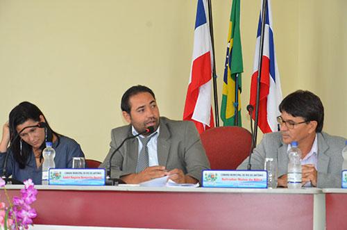Sob a presidência de André Berkovitz Câmara de Rio do Antônio realiza primeira sessão de 2017