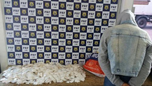 Mulher é presa com mais de 2 mil papelotes de cocaína em Vitória da Conquista