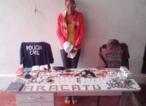 Operação realizada na manhã desta segunda-feira resultou na maior apreensão de drogas da história da cidade