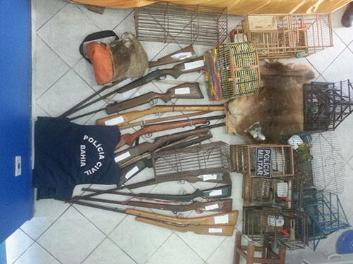 Chapada: Polícia faz ação em combate a abatimento de animais silvestres
