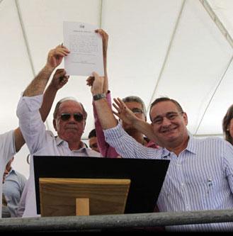 Rio do Antônio recebe investimentos do Governo, Brumado fica como expectador