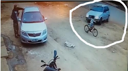 Vídeo: Embriagado, homem atropela criança e colide carro contra poste em Cascavel/ Ibicoara