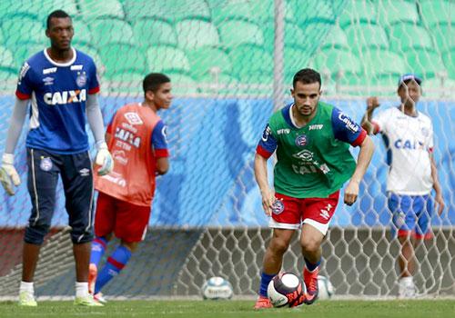 Bahia poupa titulares para o jogo contra o Flamengo de Guanambi