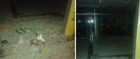 Bandidos tentaram explodir Banco do Brasil em Itaetê, Chapada Diamantina