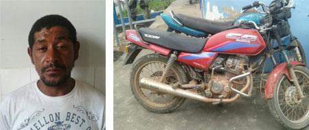 Polícia prende o autor de furtos a comércio e de motocicletas em Barra da Estiva
