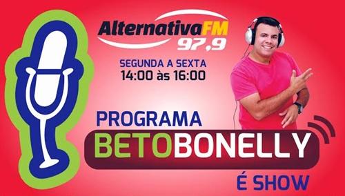 "Programa ""Beto Bonelly é Show"" reestreia nesta segunda-feira (02)"