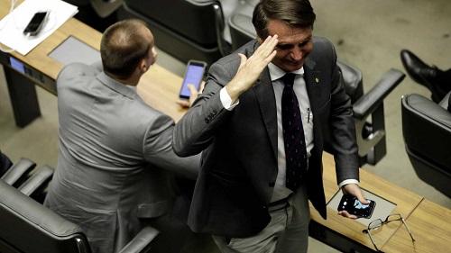 'O Trump serve de exemplo para mim', diz Bolsonaro em visita aos EUA