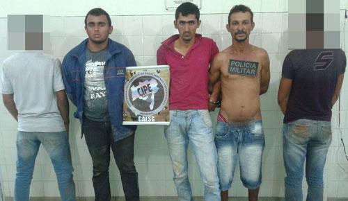 Após roubarem e matarem idoso na zona rural de Aracatu, bandidos são presos pela polícia